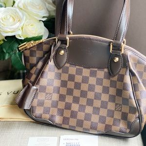 Louis Vuitton Damier Canvas Verona PM Bag